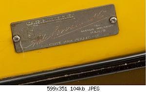 Нажмите на изображение для увеличения Название: Delage D8S de Сorvaia  шильдик.JPG Просмотров: 1 Размер:104.2 Кб ID:1187054
