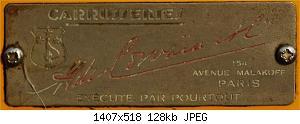 Нажмите на изображение для увеличения Название: Delage D8S de Сorvaia  шильдик1.jpg Просмотров: 1 Размер:127.7 Кб ID:1187055