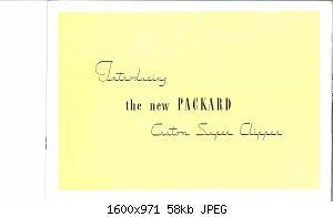 Нажмите на изображение для увеличения Название: 1946 Packard Super Clipper-09.jpg Просмотров: 0 Размер:58.4 Кб ID:1012847