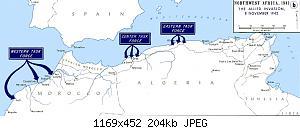 Нажмите на изображение для увеличения Название: Operation_Torch_-_map.jpg Просмотров: 0 Размер:203.7 Кб ID:1187987