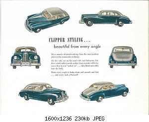 Нажмите на изображение для увеличения Название: 1946 Packard Clipper Six-05.jpg Просмотров: 4 Размер:229.8 Кб ID:1012821