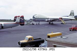 Нажмите на изображение для увеличения Название: Carvair_and_ambassador_at_bristol_airport_1965_arp.jpg Просмотров: 0 Размер:4.28 Мб ID:1171503