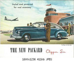 Нажмите на изображение для увеличения Название: 1946 Packard Clipper Six-01.jpg Просмотров: 5 Размер:410.8 Кб ID:1012817