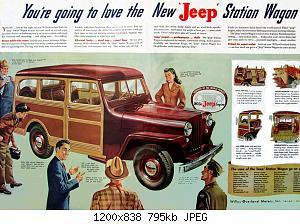 Нажмите на изображение для увеличения Название: 2 - 1946JeepStationWgn_mjf.jpg Просмотров: 5 Размер:795.1 Кб ID:1014884