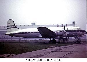 Нажмите на изображение для увеличения Название: G-ALHJ_Canadair_C.4_Argonaut_(WFU)_BOAC_LHR_01MAR64_(5562138341).jpg Просмотров: 2 Размер:227.6 Кб ID:1172953
