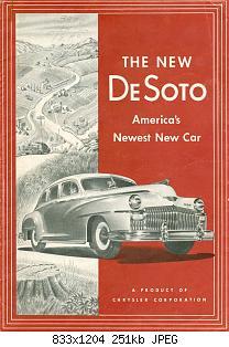 Нажмите на изображение для увеличения Название: 1946 DeSoto Foldout-01.jpg Просмотров: 3 Размер:251.4 Кб ID:1011877