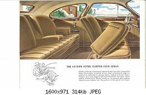 Нажмите на изображение для увеличения Название: 1946 Packard Super Clipper-12.jpg Просмотров: 1 Размер:313.6 Кб ID:1012850
