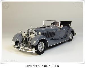 Нажмите на изображение для увеличения Название: Mercedes SS 1933 (1) Ixo.jpg Просмотров: 3 Размер:540.0 Кб ID:1153092