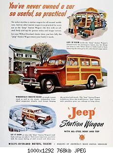 Нажмите на изображение для увеличения Название: 5 - 1947-Jeep-Ad-01.jpg Просмотров: 5 Размер:768.3 Кб ID:1014887