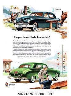 Нажмите на изображение для увеличения Название: 1948 Kaiser-Frazer Ad-01.jpg Просмотров: 2 Размер:392.1 Кб ID:1039683