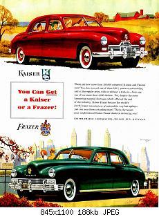 Нажмите на изображение для увеличения Название: 1948 Kaiser-Frazer Ad-03.jpg Просмотров: 1 Размер:187.6 Кб ID:1039685