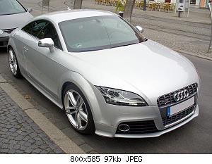 Нажмите на изображение для увеличения Название: 800px-Audi_TTS_Coupé_Eissilber.JPG Просмотров: 5 Размер:140.3 Кб ID:818542