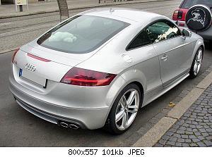 Нажмите на изображение для увеличения Название: 800px-Audi_TTS_Coupé_Eissilber_Heck.JPG Просмотров: 5 Размер:146.1 Кб ID:818543