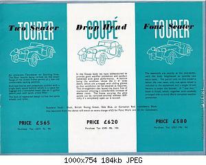 Нажмите на изображение для увеличения Название: Morgan Plus 4 Brochure 1950 EN (5).jpg Просмотров: 0 Размер:183.8 Кб ID:1219094