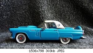Franklin Mint Ford Thunderbird 1956 1.jpg