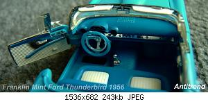 Franklin Mint Ford Thunderbird 1956 5.jpg