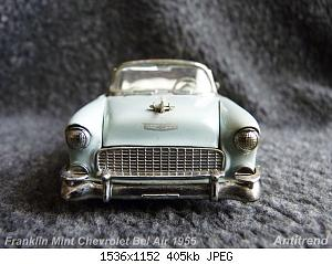 Franklin Mint Chevrolet Bel Air 1955 4.jpg