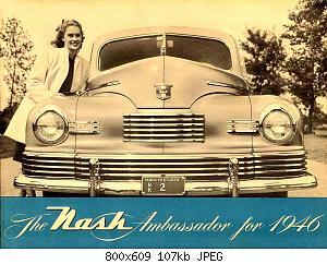 Нажмите на изображение для увеличения Название: 1946 Nash Ambassador-01.jpg Просмотров: 2 Размер:107.1 Кб ID:1009176