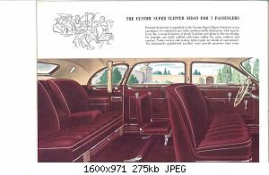 Нажмите на изображение для увеличения Название: 1946 Packard Super Clipper-14.jpg Просмотров: 2 Размер:274.5 Кб ID:1012852