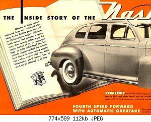 Нажмите на изображение для увеличения Название: 1946 Nash Ambassador-02.jpg Просмотров: 2 Размер:112.3 Кб ID:1009706