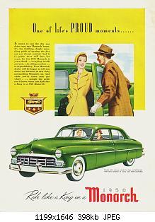 Нажмите на изображение для увеличения Название: 1950 Monarch Ad-03.jpg Просмотров: 1 Размер:397.7 Кб ID:1084028