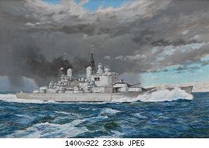 Нажмите на изображение для увеличения Название: Wright-Paul-HMS-Vanguard.jpg Просмотров: 2 Размер:232.9 Кб ID:1152617
