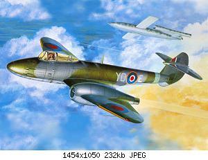 Нажмите на изображение для увеличения Название: Gloster Meteor.jpg Просмотров: 4 Размер:232.5 Кб ID:1158478