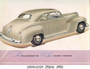 Нажмите на изображение для увеличения Название: 1946 Plymouth-04.jpg Просмотров: 3 Размер:251.1 Кб ID:1005863