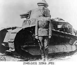 Нажмите на изображение для увеличения Название: George_S._Patton_-_France_-_1918.jpg Просмотров: 0 Размер:327.5 Кб ID:878701