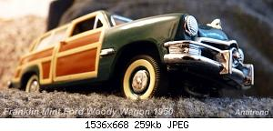 Franklin Mint Ford Woody Wagon 1950 1.jpg