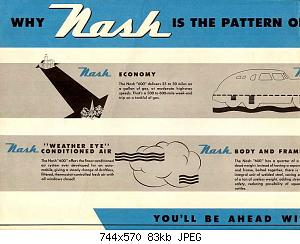 Нажмите на изображение для увеличения Название: 1946 Nash 600-02.jpg Просмотров: 1 Размер:83.1 Кб ID:1009704