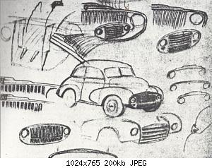Нажмите на изображение для увеличения Название: Issigonis-sketches.jpg Просмотров: 1 Размер:199.7 Кб ID:1140351