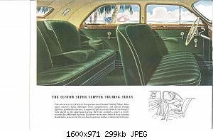 Нажмите на изображение для увеличения Название: 1946 Packard Super Clipper-13.jpg Просмотров: 2 Размер:298.7 Кб ID:1012851