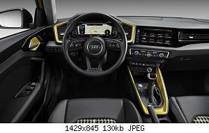Нажмите на изображение для увеличения Название: Audi-A1-Sportback-2018-5.jpg Просмотров: 2 Размер:130.4 Кб ID:1169952