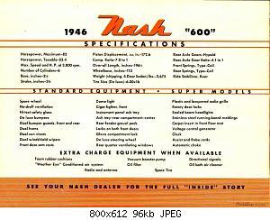 Нажмите на изображение для увеличения Название: 1946 Nash 600-04.jpg Просмотров: 0 Размер:95.6 Кб ID:1009173